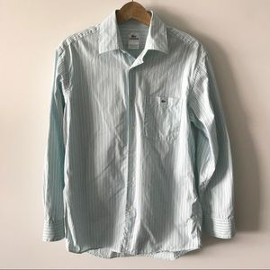 Lacoste Long Sleeve Striped Button Down Shirt K